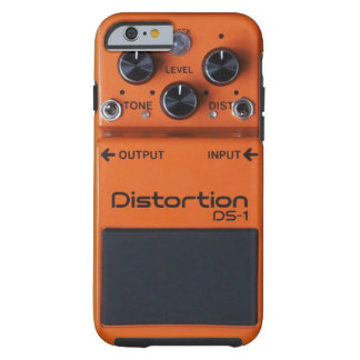 Classic Rock Orange Distortion Pedal Tough iPhone 6 Case
