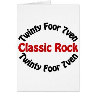 Classic Rock - Twinty Foor 7ven Card