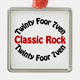 Classic Rock - Twinty Foor 7ven Christmas Tree Ornaments