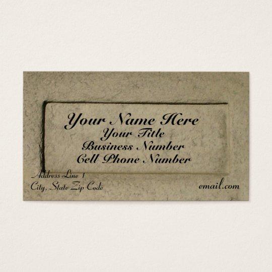 Classic Rock (w/title) Business Card