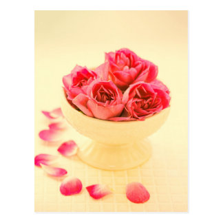 Classic rose bouquet - post card and invitation