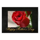 Classic Rose Mothers Day Greeting Card