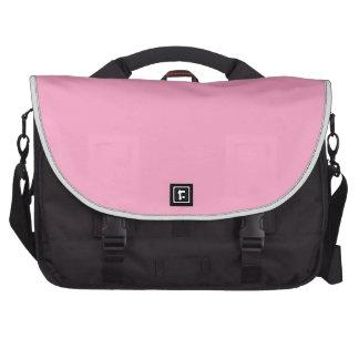 Classic Rose Pink Laptop Computer Bag