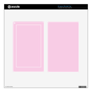Classic Rose Pink Solid Color Decal For Kindle Fire