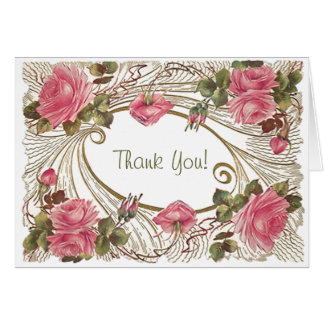 Classic rose Thank You Cards All Occasion Notes