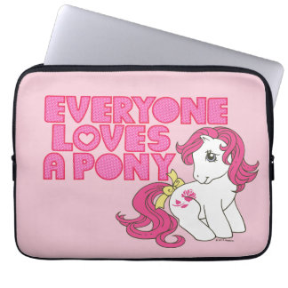 Classic Roseluck | Everyone Loves A Pony Computer Sleeve