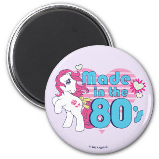Classic | Roseluck | Made In The 80's Magnet