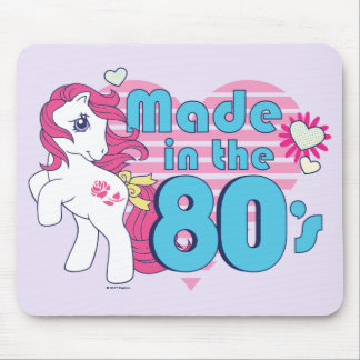 Classic | Roseluck | Made In The 80's Mouse Pad