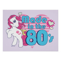 Classic | Roseluck | Made In The 80's Poster