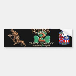 Classic Rouss Bumper Sticker