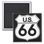 Classic Route 66 Magnet 2