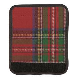 Classic Royal Stewart Plaid Luggage Handle Wrap