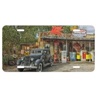 Classic RT 66 Arizona License Plate