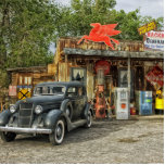 """Classic RT 66 Arizona Statuette<br><div class=""""desc"""">Americana at its finest. I&#39;ve driven RT &#39;66,  and own a &#39;66 Mustang Cabriolet. You should too.</div>"""
