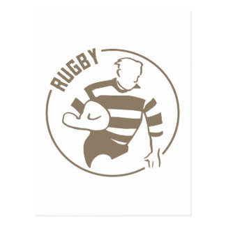 Classic Rugby Postcard