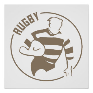 Classic Rugby Poster