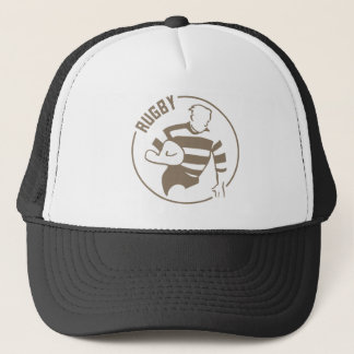 Classic rugby trucker hat