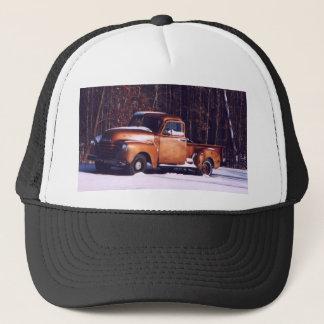 classic rust trucker hat