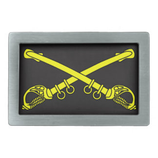Classic Sabers Pewter Belt Buckle