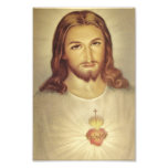 Classic Sacred Heart of Jesus Photo Print<br><div class='desc'>Suitable for framing,  this is a Classic Image of the Sacred Heart of Jesus.</div>
