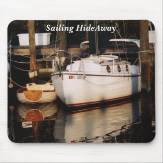 Classic Sailboat with Dink Mouse Pad