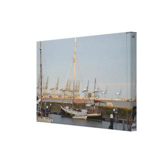 Classic Sailing Barge Stenoa Canvas Print