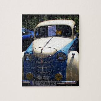 Classic Saloon Car Puzzles