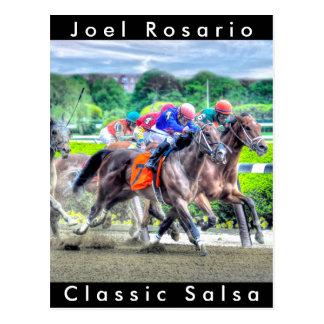 Classic Salsa  Joel Rosario Postcard