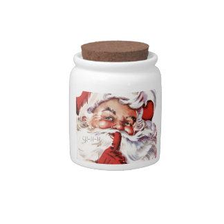 Classic Santa Candy Jars