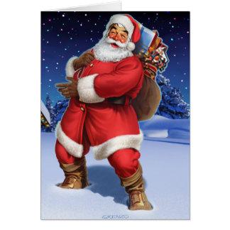 """""""Classic Santa"""" Card"""