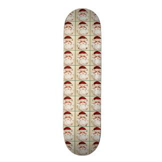 Classic Santa Claus Face Skateboard Deck
