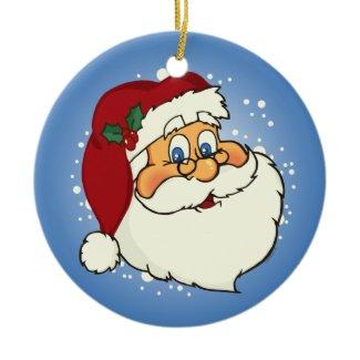 Classic Santa Ornament ornament