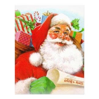 Classic Santa Picture Letterhead