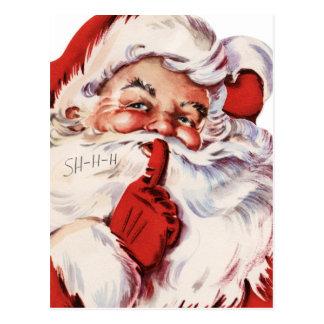 Classic Santa Postcard