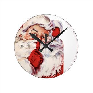 Classic Santa Wall Clock - Customized