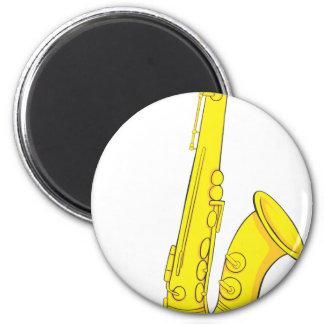 Classic Saxophone Magnet
