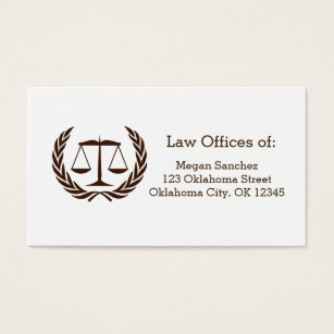 Scale of justice law school business cards templates zazzle classic scales of justice law school graduation business card colourmoves Choice Image