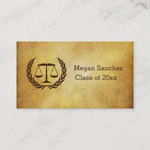 Law School Graduate Business Cards Zazzle