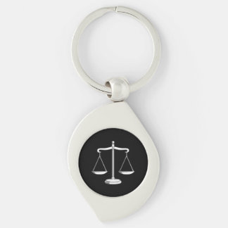 Classic Scales of Justice | Lawyers Keychain