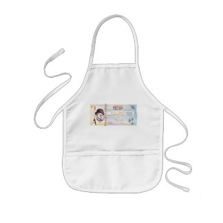 Classic Scallywags $1 Currency Kids Apron