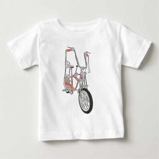 Classic Schwinn Orange Krate 60's Bike Bicycle Baby T-Shirt