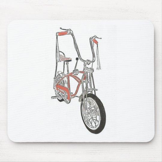 Classic Schwinn Orange Krate 60's Bike Bicycle Mouse Pad