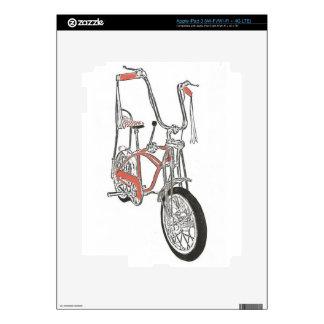 Classic Schwinn Orange Krate 60's Bike Bicycle Skin For iPad 3