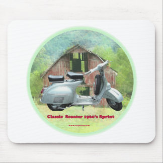 Classic_Scooter_1960's_Sprint. Mouse Pad