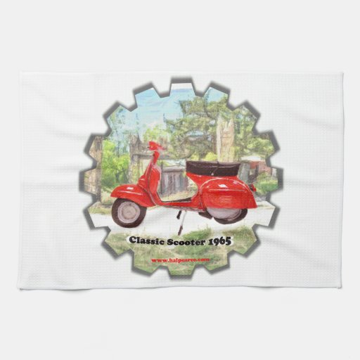 Classic_Scooter_1965 Towel