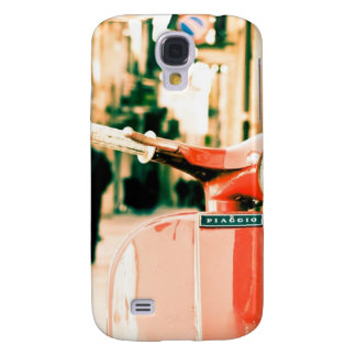 Classic scooter in Italy Samsung Galaxy S4 Case