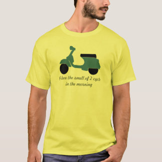 classic scooter love smell of 2 cycle any color T-Shirt