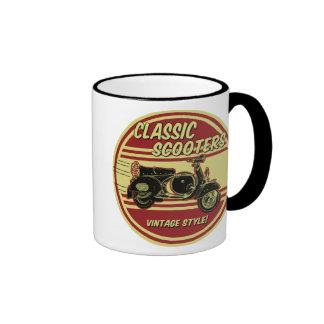 Classic Scooter Retro Roundel Mug