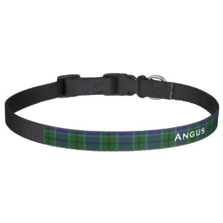 Classic Scott Tartan Plaid Custom Dog Collar