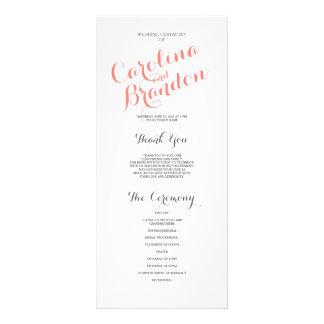 Classic Script | Wedding Program
